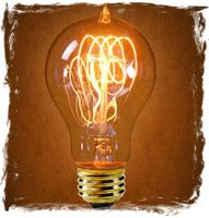 This wonderful antique style light bulb is 40 watt, 120 volt, incandescent.