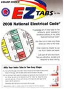 Color Coded EZ Tabs for 2011/2014/2017 NEC CODEBOOK - HANDBOOK
