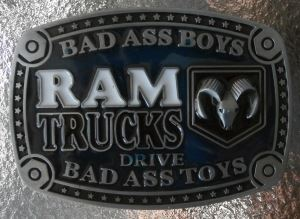 RAM Bad Ass Boys Belt Buckle - Something for Everyone!
