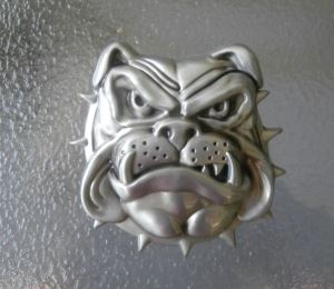 Tower Dawg or Cable Dog Belt Buckle