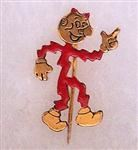 Reddy Kilowatt Lapel or Hat Stick Pin