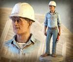 On the Job - Foreman Work Statue USA Made!