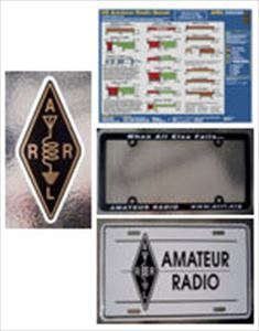 ARRL Products - License Plates or Frames