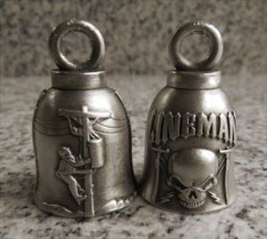 CHOICE of Two! Lineman Motorcycle Protection Bells