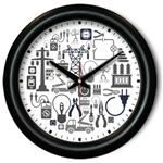 All About Electricity Wall Clock - Occupational gift
