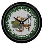 Ham Radio Operator Clock: PERSONALIZED OR ELMER