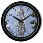 Telecommunications Cell Tower Wall Clock - Beautiful
