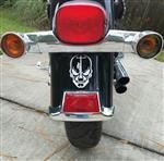 Lineman Skull Biker Decal for Motorcycle