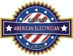 American Electrician Decal - Show Your Pride!