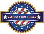 American Power Lineman Decal - Show Your Pride!
