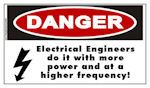 Danger Electrical Engineer Sticker - DO IT WITH MORE POWER!