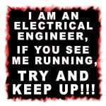 TNT: I Am An Electrical Engineer Decal - Funny
