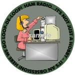Ham Radio Decal for lady amateur radio operators