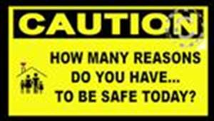 CAUTION: How many reasons do you have... Sticker