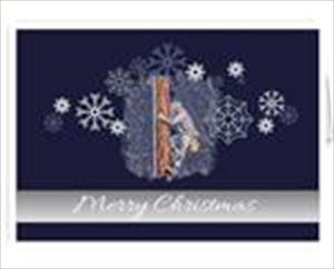 Merry Christmas Cards - Power  Lineman Greeting Cards