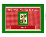 Electrical Contractor Electrician Powerman Christmas Cards