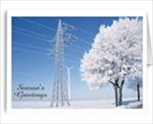 Serene Power New Year/Christmas Cards - Electric Utility Companies