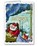 North Pole Wireless Company  Christmas Cards