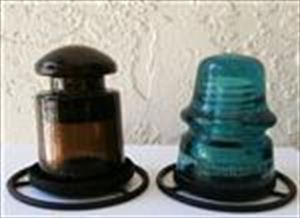 Brookfield & Armstrong Insulator Votive Holders YOUR CHOICE