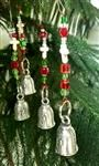 Lineman Pewter Bell Tree Ornament - Beautiful!