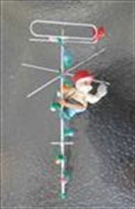 Static in the Attic Cable Lineman - TV Installer Ornament