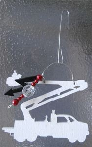 Christmas Craft Kit for the Kids! Bucket Truck Ornament