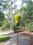 Light Bulb Antenna Topper or Bobble Head Lightbulb