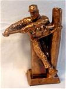 Norman Rockwell THE LINEMAN Sculpture/Statue