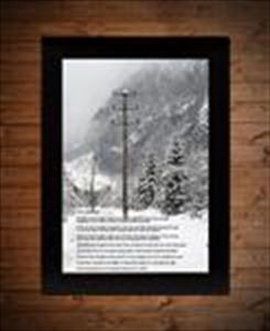 The Lineman Print - Paul Harvey Commentary Two Sizes