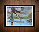 Restoring Service Insulator Art Print - Limited Edition LINEMAN