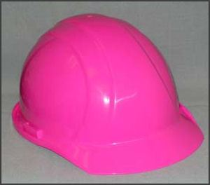 Tnt Pink Construction Hard Hats Polyethylene