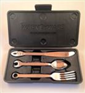 Wrenchware Utensils: 3 pc Set Two sizes Kids and Adults