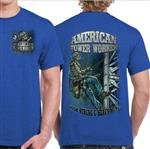 SZ MEDIUM ONLY - American Tower Climber Tshirt-High Strung and Heavy Hung Tee