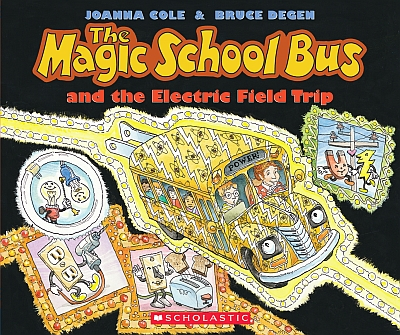 For your lil' apprentice:  Scholastic Book:  The Magic Field Trip and the Electric Field Trip book.