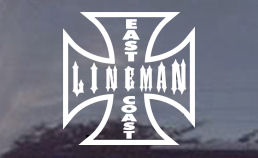 East Coast Lineman? Then this East Coast Lineman diecut window decal is for you!