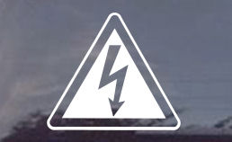 This electrical hazard decal is die cut onto white vinyl. A very nice decal for any vehicle! Add customization if you wish.