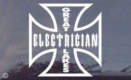 Great Lakes Electrician Decal