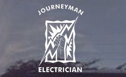 TNT has several Journeyman Electrician Decals, so be sure to browse our entire decal department for a wide variety of decals for your journeyman linemans truck windows!