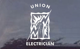 Get your union electrician diecut decals only from TNT electrical trades gift store! These are usa made!