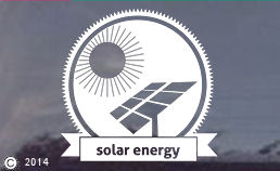 Solar Energy die cut window decals for cars or trucks!