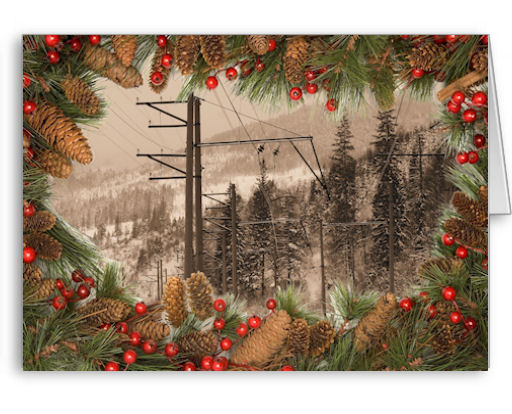 Our Lighting the Way Christmas cards for linemen, electricians, electrical contractors are unique and one of a kind! You won't find lineman cards anywhere else!