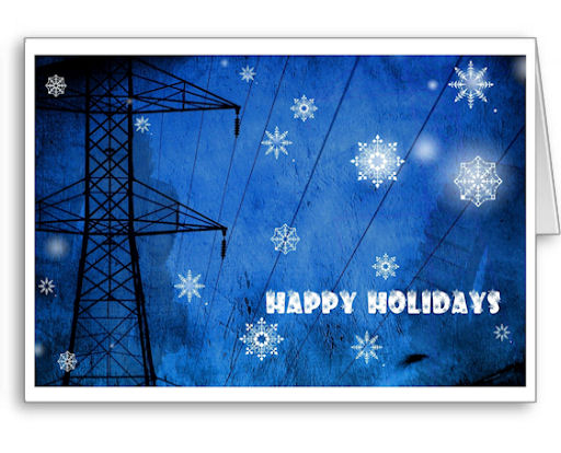Our electrical trades Christmas cards are sure to be a hit with everyone on your Christmas list -- order one or a couple hundred today!