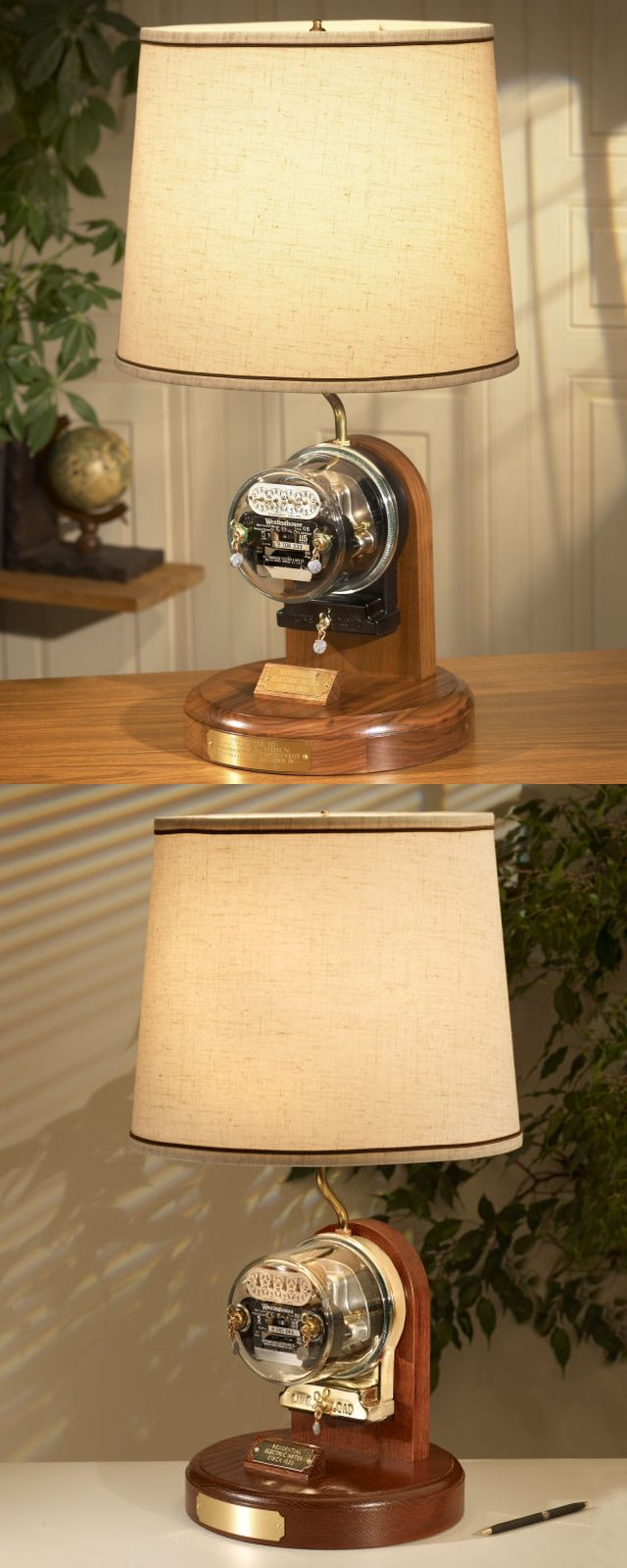 Tnt  Heritage Westinghouse Antique Residential Meter Lamp