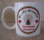 amateur radio operator mugs in several styles!
