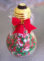 light bulb or lightbulb glass candy jars...we offer three sizes small, medium and large!
