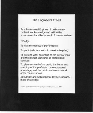 Tnt The Engineer S Creed Matted
