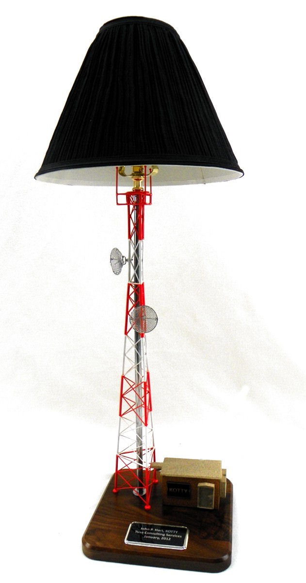 Self Support Tower Lamp Gift for Telecommunications industries including cellular, wireless and radio.
