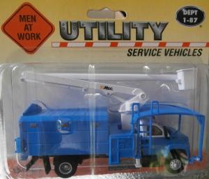 Yellow Tree Trimmer Truck by Boley 1-87 scale